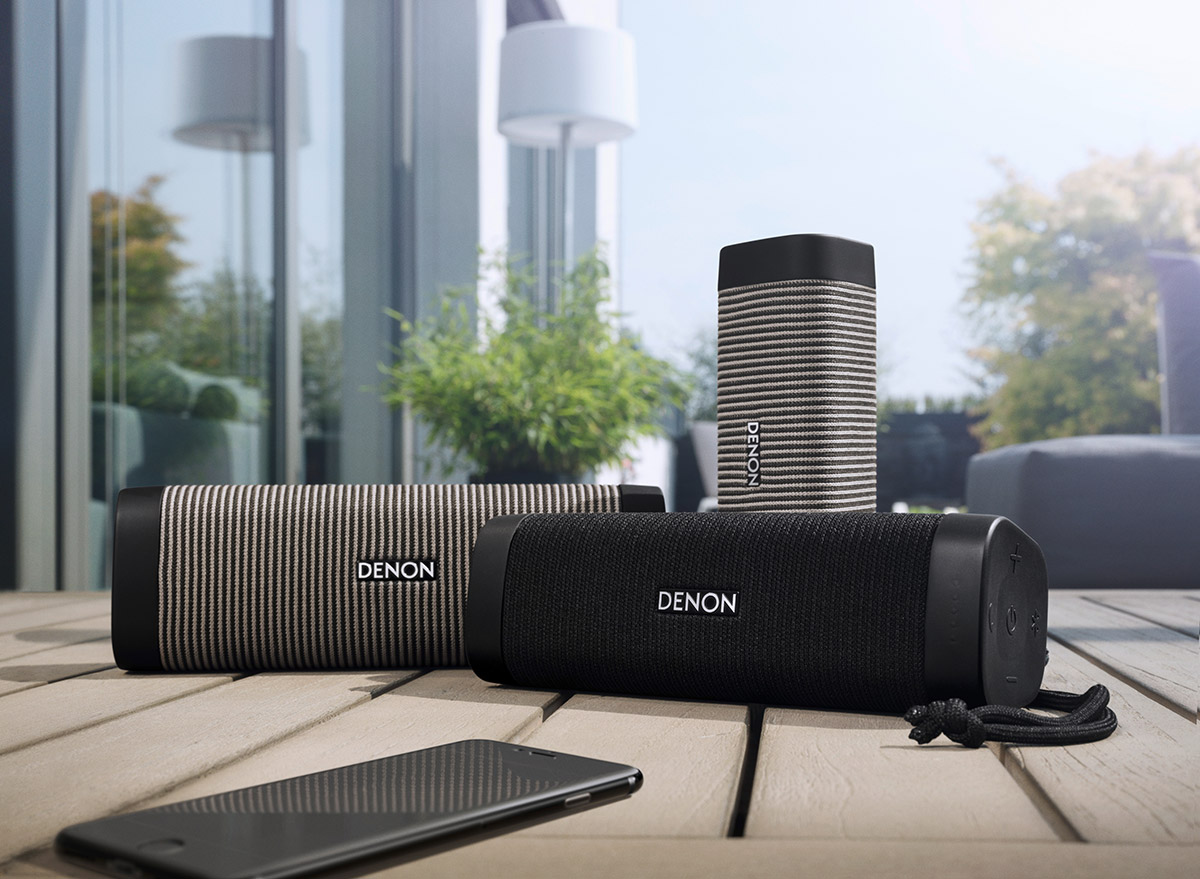, Głośniki Bluetooth – mono, stereo i 360, Denon Store