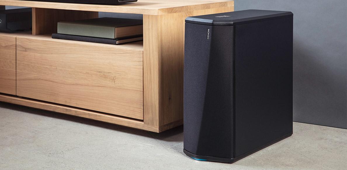 Denon przedstawia dwa nowe soundbary klasy premium z wbudowaną technologią Heos, Denon Store