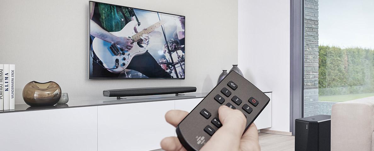 Jak podłączyć bezprzewodowe słuchawki do telewizora?, Denon Store