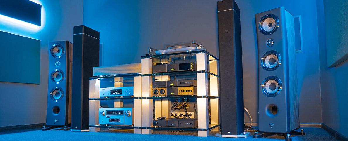 Czy akustyka pomieszczeń odsłuchowych ma znaczenie?, Denon Store