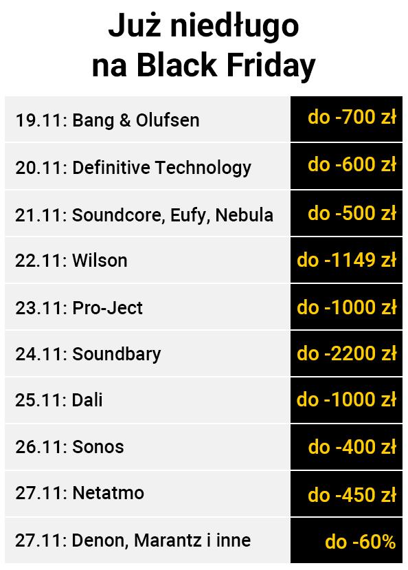 Black Friday w Denon Store i Audio Forum, Denon Store