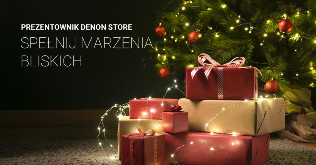 Prezent dla Niej – co kupić na święta?, Denon Store