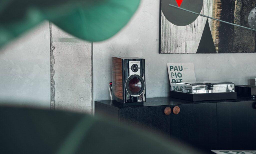 Akustyka wnętrz – czas pogłosu, Denon Store