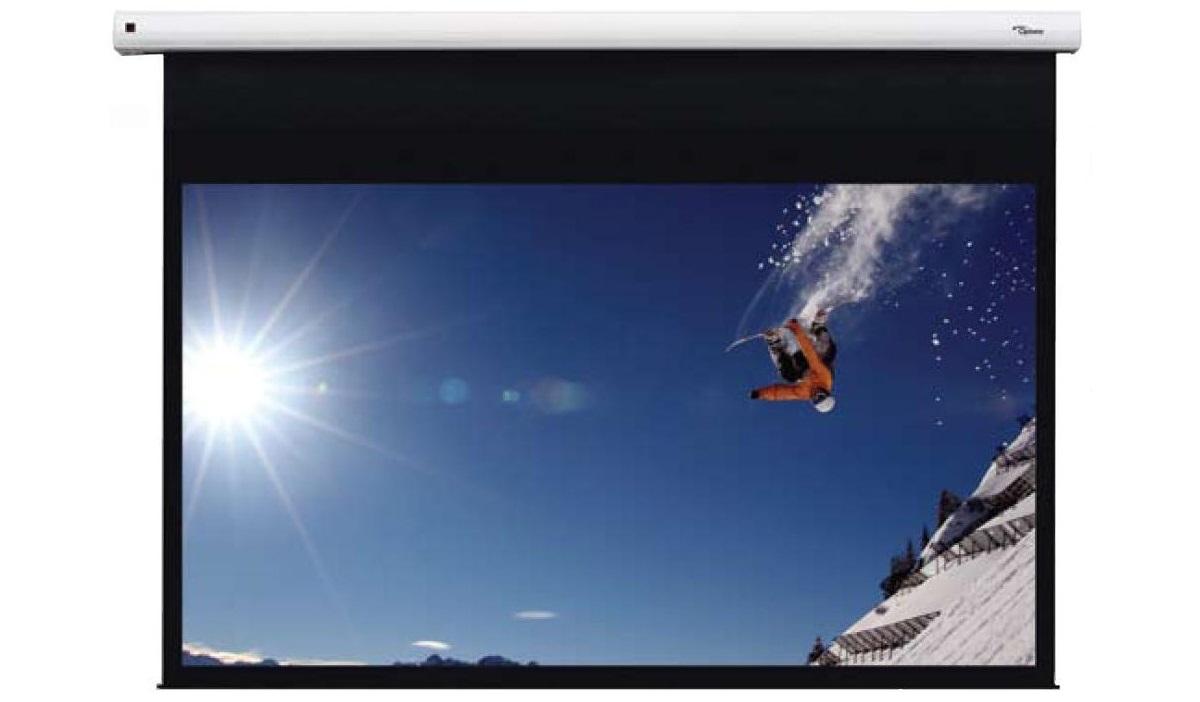Instalacje audio-video: ekran projekcyjny typu INCELL, Denon Store