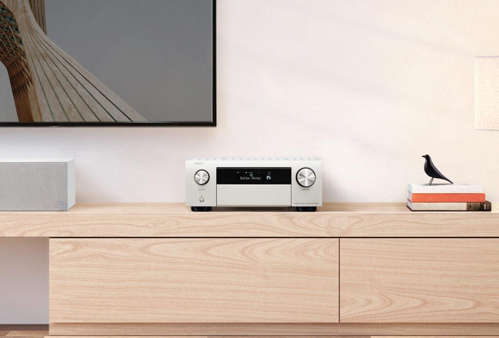 Instalacje audio-video: kino domowe 5.1 i 2 strefy stereo, Denon Store