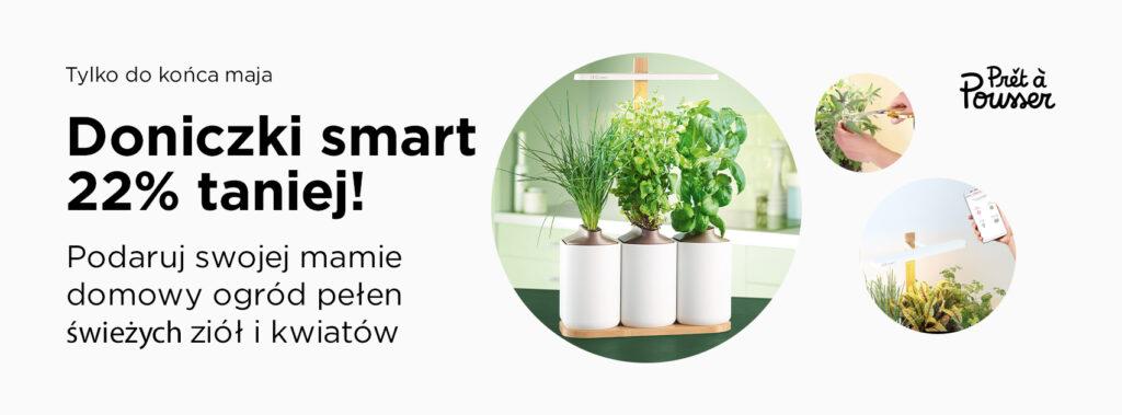 Inteligentne doniczki i rośliny w kapsułkach? Poznajcie Prêt à Pousser, Denon Store